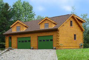 Garages Log Homes Garage Apartments House Design