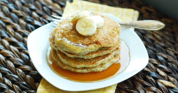 banana quinoa pancakes