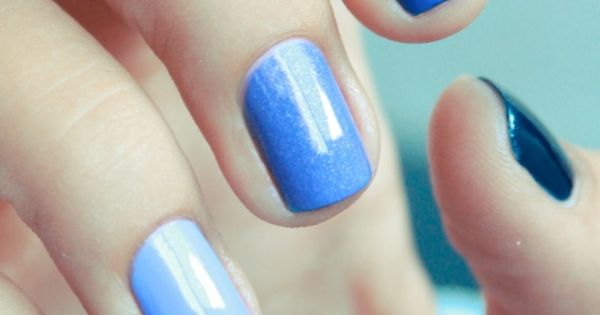 50 shades of blue for more NailArt Ideas MyBeautyCompare Inspiration Funky Original