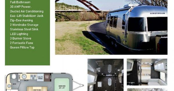 2017 Airstream International 23 Texas Airstream Airstream For Sale Ducted Air Conditioning