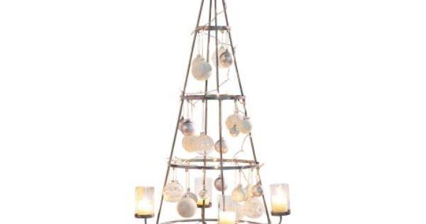 deko objekt weihnachtsbaum metall glas ca h150 cm vorderansicht tannenbaummalanders. Black Bedroom Furniture Sets. Home Design Ideas
