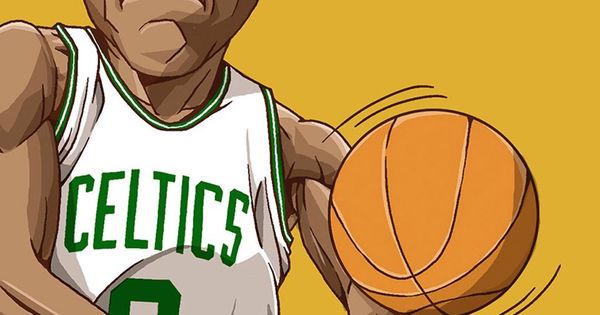 Basketball Cartoon Wallpapers: Rajon Rondo. Tap To See Collection Of Famous NBA