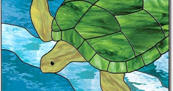 Stained Glass Sea Turtle Stained Glass Pinterest Sea