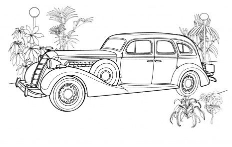 Vintage Coloring Page 2012 01 16 Cars Coloring Pages Race Car Coloring Pages Vintage Coloring Books