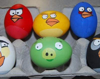 Angry Bird Easter Eggs! egg easter angrybirds birds kids