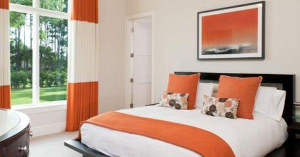 Modern guest bedroom dark wood furniture light walls for Bedroom furniture in zanesville ohio