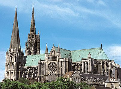 Gothic Cathedral Located In The Town Of Chartres Northwestern France Generally Ranked As One Of The Three Chief Examples Chartres Gothic Cathedrals Cathedral