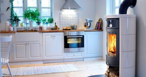 Skandinavisches wohndesign kaminofen contura kamine for Kaminofen landhaus