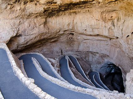 Natural Entrance at Carlsbad Caverns National Park, New Mexico, United States, North