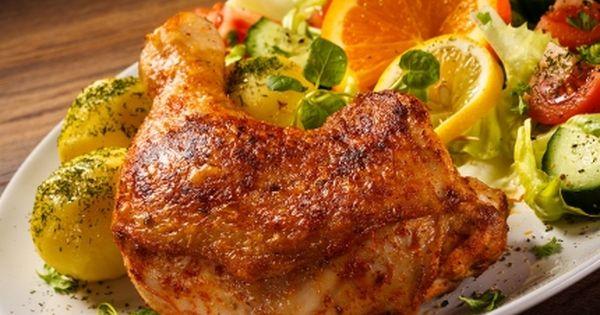طريقة عمل أشهى دجاج مشوي بالفرن Delicious Roasted Chicken Recipe