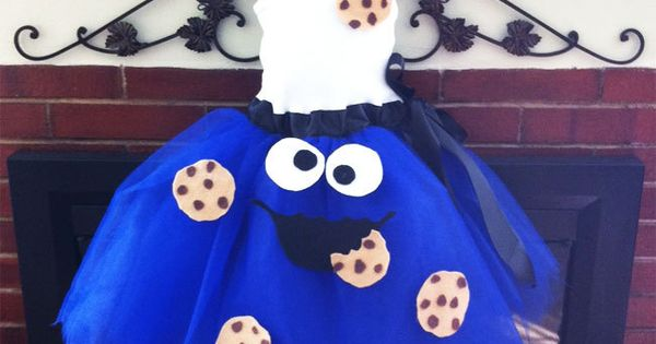 Cookie Monster Costume - Love me some Cookie Monster. If you have