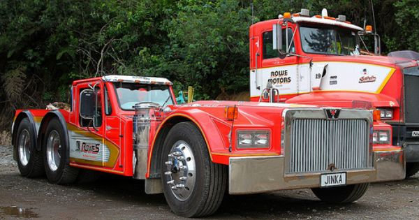 All Built Up In Our Own Workshop Ex Western Star Logger Motor From Hino Conc Truck To Fit Down Between Chassis R Western Star Trucks Big Trucks Big Rig Trucks