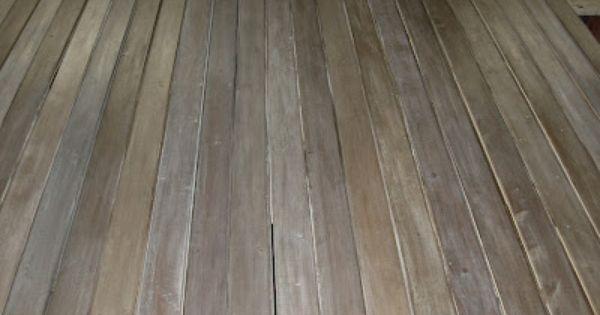 Finishing Acts Diy Making Barnwood Barn Wood Flooring Staining Wood