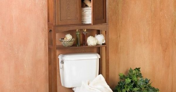 16 Epic Bathroom Storage Ideas: Over The Toilet Cabinets Are Always A Good Bathroom