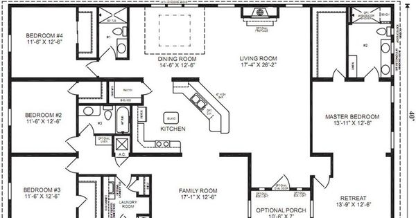 4 Bedrooms 4 Bathroom Universal Design House Plans Small Bathroom Decorating Ideas Images