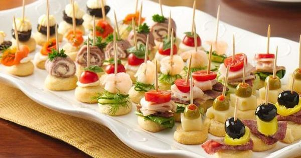 """Simple 4-ingredient appetizers """"on a stick"""""""