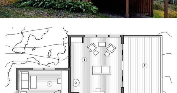 Modern Style House Plan 2 Beds 1 Baths 840 Sq Ft Plan