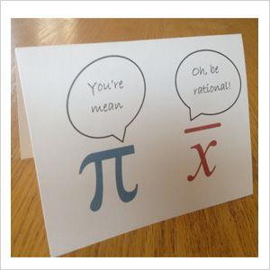 Math Joke With Images Teachers Day Card Teacher Birthday Card