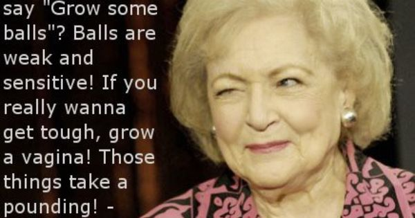LOVE me some Betty White... So funny.