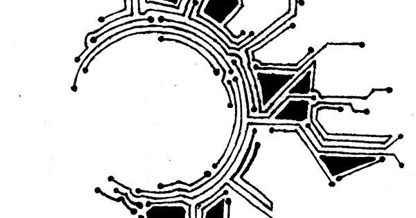 circuit  tattoo template  3