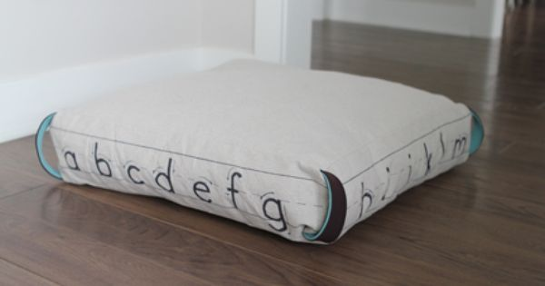 Knock off RH floor cushion for a fraction of the price? Yes, please! FINALLY a tutorial for RH ...