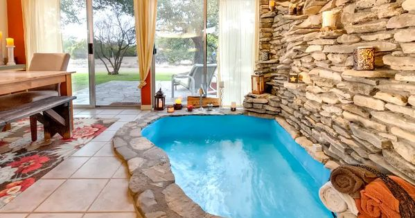Stunning Vacation Rental With Indoor Hot Tub Next To Fossil Rim Wildlife Center Texas Indoor Hot Tub Lake House Rentals Hot Tub