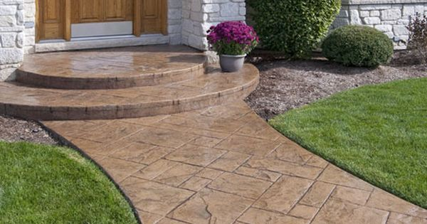 Walkway Design Ideas Quikrete Diy Concretedecor