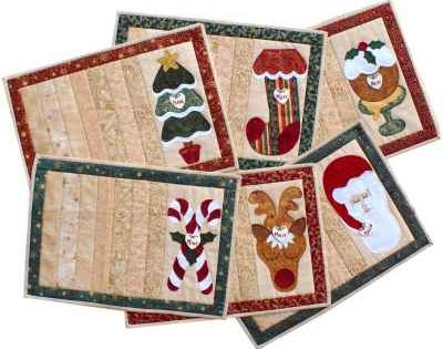 Christmas Placemats Christmas Quilts Christmas Placemats Christmas Quilt Patterns