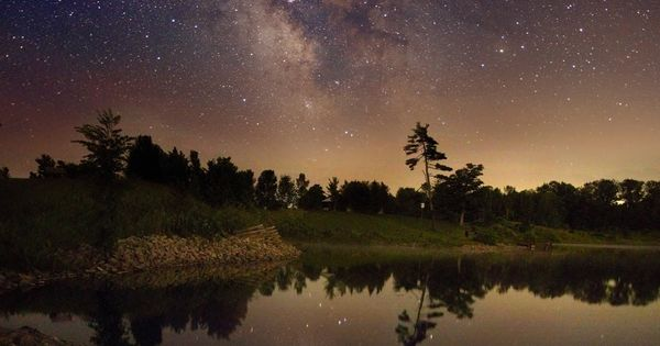 Milky Way Galaxy over Ontario Canada, courtesy of NASA - Kerry-Ann Lecky