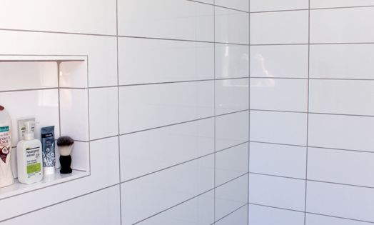 Long Rectangle Tiles Stacked Bathroom Wall Pattern Tile