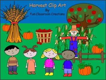 Happy Harvest Clip Art Collection Free Clip Art Clip Art Clip Art Freebies