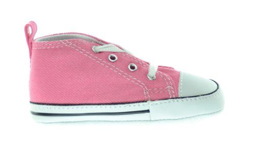 A bordo Confinar Adiccion  Converse First Star Chuck Taylor Infant Shoes Pink 2 | Baby shoes, Converse  one star, Baby girl shoes