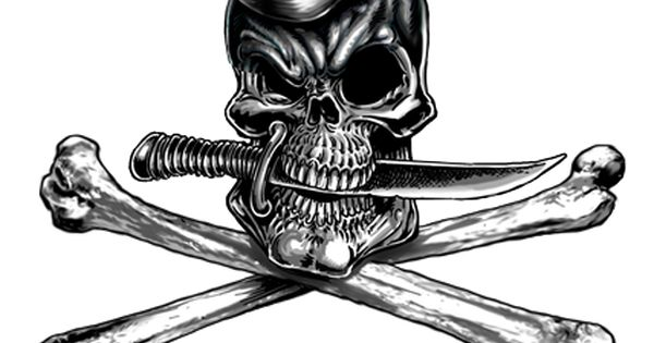 Skull wearing a sailor hat naval skull and bones shirt for Oif tattoo designs