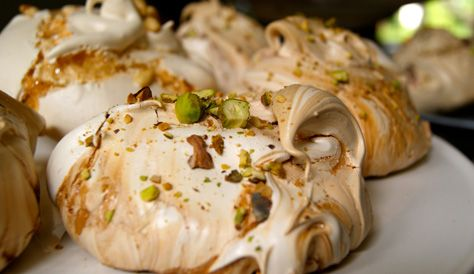 Meringue, Cloud and Pomegranates on Pinterest