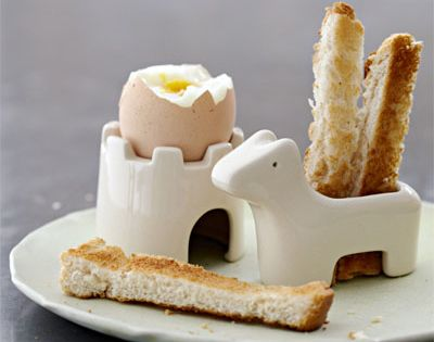 castle-egg holder, hors e-breadstick holder