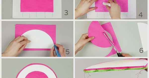 Facilisimo manualidades de papel bolas de nido de abeja - Bolas de madera para manualidades ...