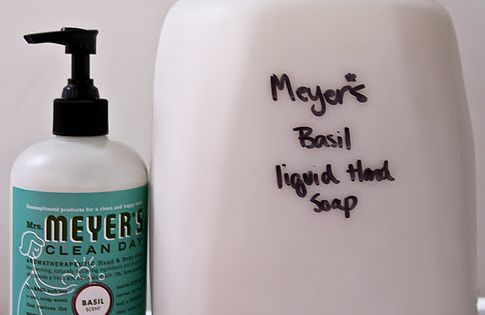 How to Make Liquid Hand Soap from Bar Soap - from The