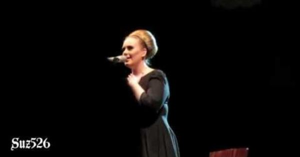 I Can T Make You Love Me Cover By Adele I Was At This Concert