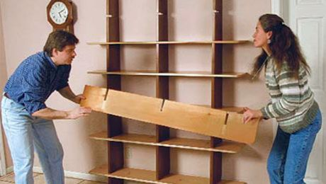 Bookshelves In A Day Finewoodworking Fine Woodworking Woodworking Projects Bookshelf Plans