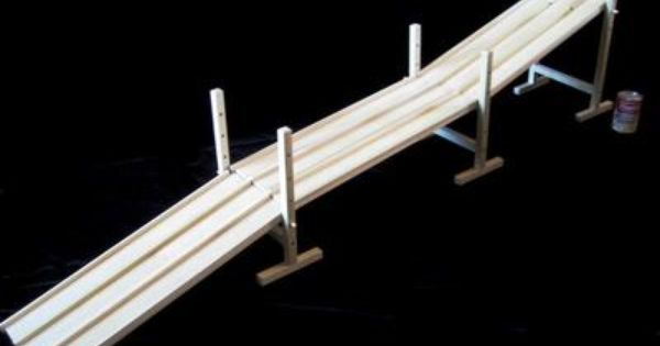 Amish Wooden Toy Car Race Track W 5 Ramps Over 9 Feet Ebay Toy Car Racing Track Toy Wooden Toy Car
