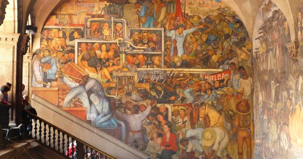 Diego rivera s murals of mexico mosaics frescos murals for Diego rivera mural 1929