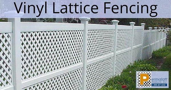 Vinyl Lattice Fencing Lattice Fence Decking Fence Fence
