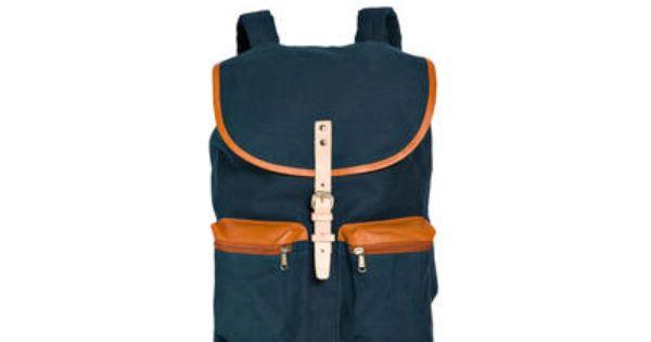 Sandqvist Roald Grand Backpack Blue hos