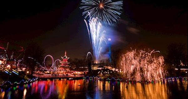 Fireworks In Tivoli Gardens New Years Eve Fireworks New Year Fireworks Celebration Around The World