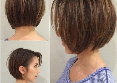 Blunt Bob Haircut for Short Straight Hair
