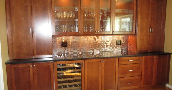 Refrigerator in dining room
