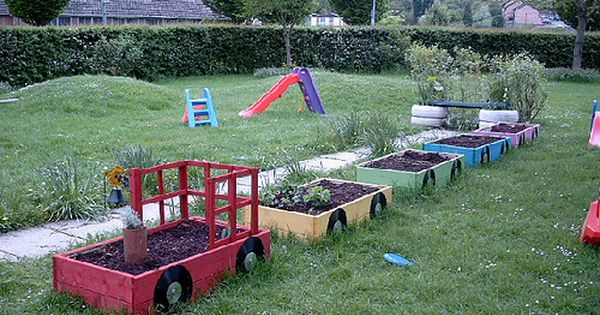 Inspiring Garden Ideas For Kids With Images School Garden