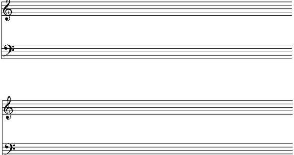 Feuille vierge pour port e de piano imprimer musique pinterest pianos - Feuille de musique a imprimer ...