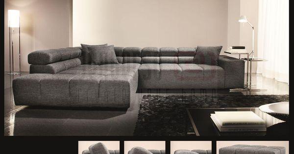 candy polsterm bel oregon ecksofa couch. Black Bedroom Furniture Sets. Home Design Ideas