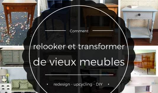 comment relooker et transformer des vieux meubles diy d co diy pinterest vieux meubles. Black Bedroom Furniture Sets. Home Design Ideas